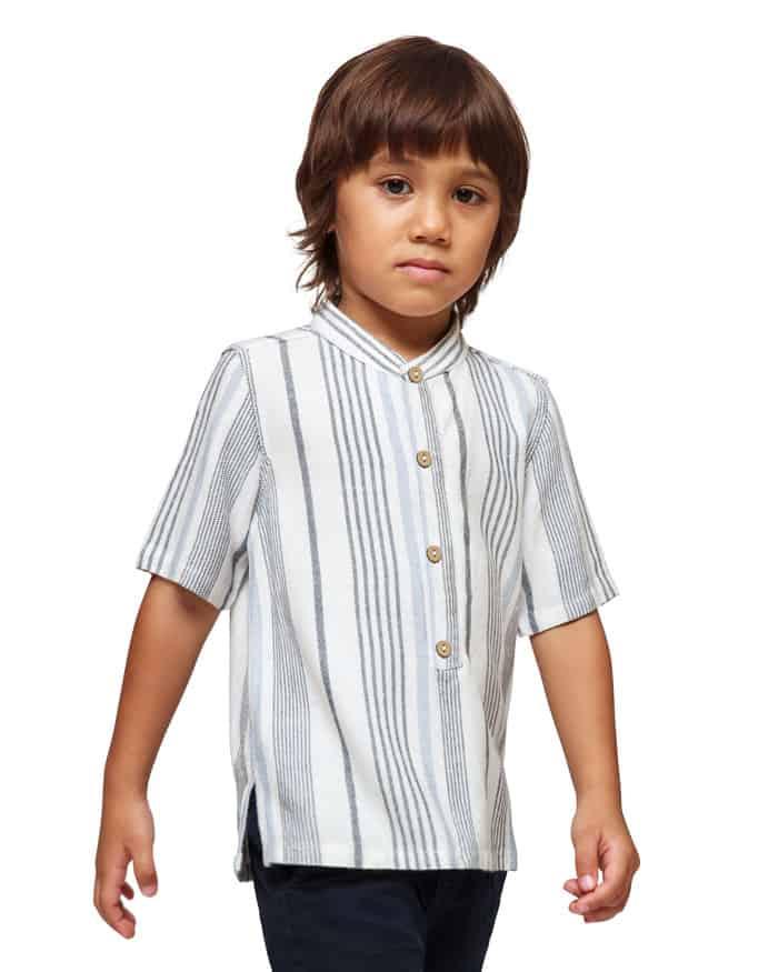 Narith Short Strip Mix Shirt27