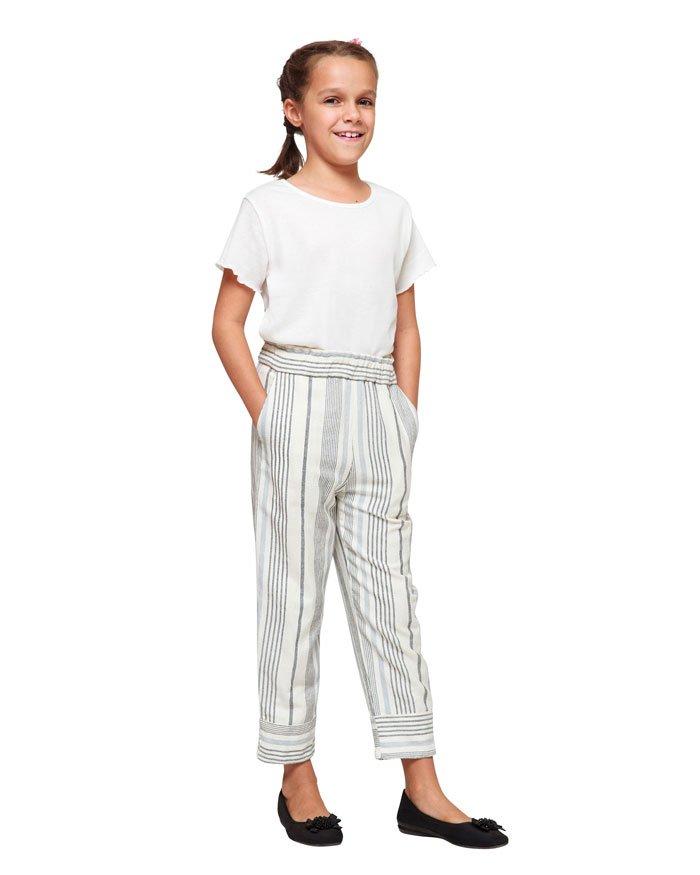 Sela Sasa Strip Long Pants24