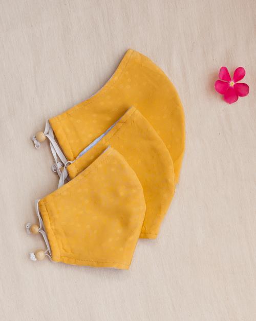 3-sizes-gold-cotton-masks