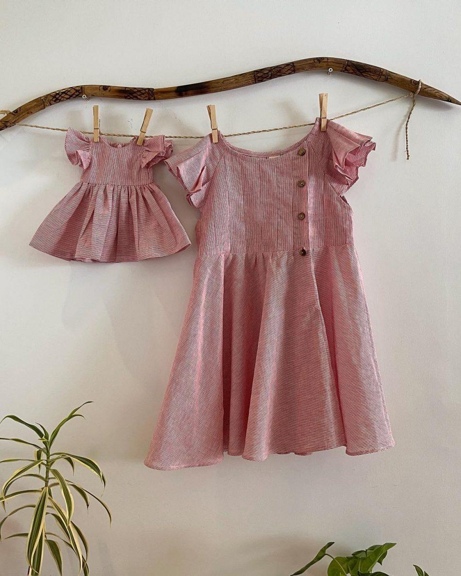 girls-dress-set