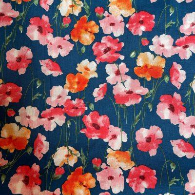 Bold-Floral-print-Cotton