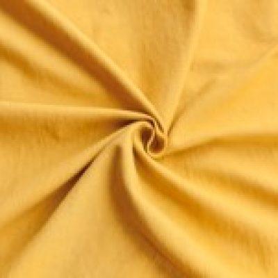 Plain mustard yellow 100 handwoven cotton